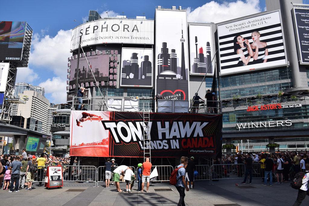 Tony Hawk Vinyl Banners