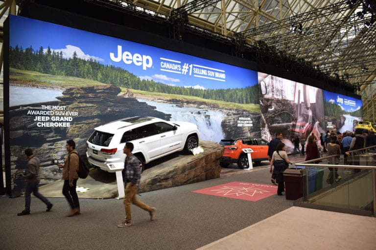 Autoshow Fabric Lightbox